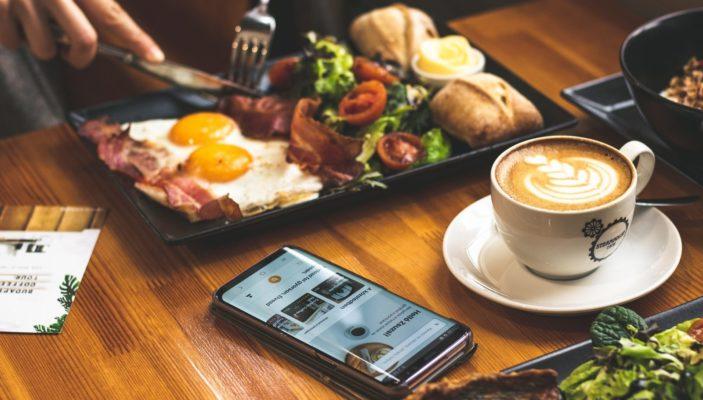 Мобильные приложения для доставки кафе и ресторана